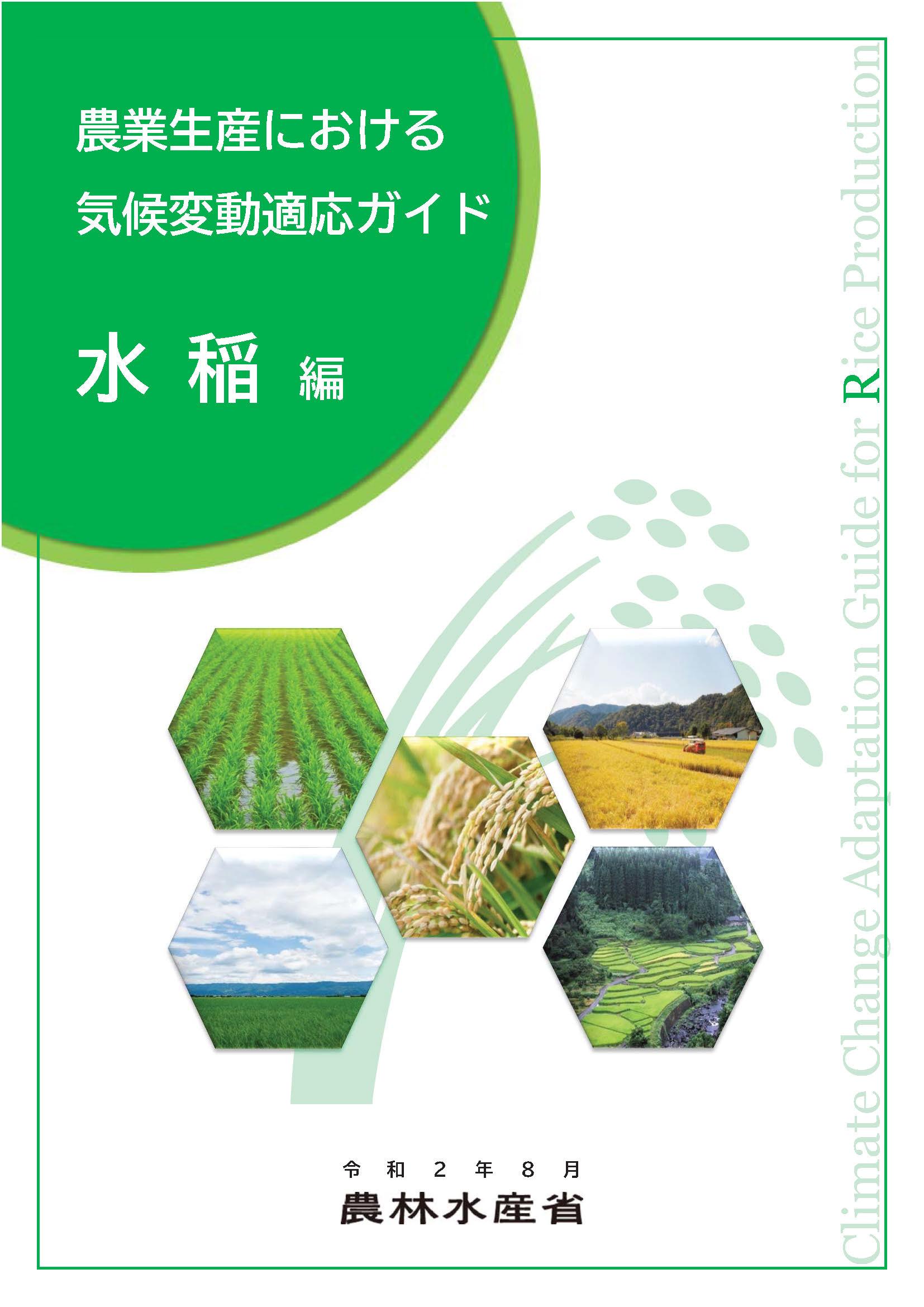 農水省「農業生産における気候変動適応ガイド(水稲編)、(りんご編)」の公表